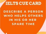 Beautiful Person Cue Card topic 65 Best Ielts Cue Cards Images In 2020 Cue Cards Ielts Cue
