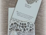 Beautiful Quotes for A Wedding Card Wedding Cards Using Detailed Floral Thinlits and Floral