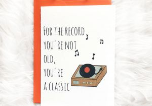 Beautiful Things to Write In A Card Classic Birthday Card Dad Birthday Card by Siyo Boutique