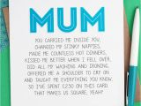 Beautiful Things to Write In A Card Mum Birthday Card