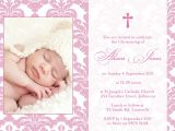 Beautiful Words for A Wedding Card Baptism Invitation Sample Wording with Images Baby