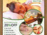 Beauty Flyers Templates Free Free Beauty Spa Flyer Psd Template Designyep
