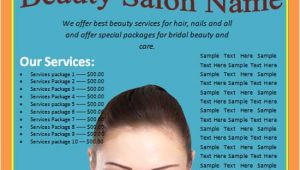 Beauty Flyers Templates Free Free Online Flyers