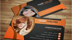 Beauty Salon Business Cards Templates Free 32 Hair Stylist Business Cards Psd Eps Free