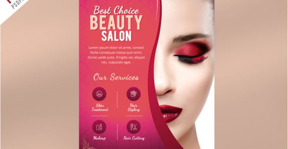 Beauty Salon Flyer Templates Psd Free Download Beauty Salon Flyer Template Psd Psdfreebies Com