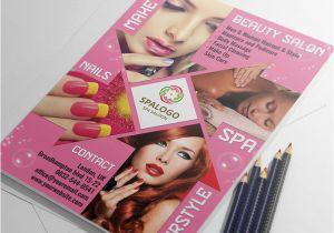 Beauty Salon Flyer Templates Psd Free Download Hair and Beauty Salon Flyer Template Landisher