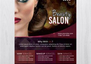 Beauty Salon Flyer Templates Psd Free Download Makeup Flyer Templates Free Mugeek Vidalondon