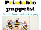 Bee Finger Puppet Template 8 Best Images Of Bee Finger Puppet Printable Printable