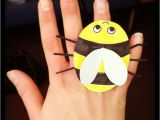 Bee Finger Puppet Template Pin Bee Finger Puppet software Alligator the Template