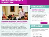 Ben Angel Email Marketing Templates Scale Up Milwaukee Enewsletter HTML Email Marketing