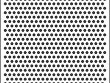 Ben Day Dots Template 8mm Polka Dot Template Stencil for Sale Online
