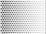 Ben Day Dots Template Polkadot Stencil Template for Fading Dots Available Online