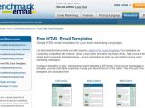 Benchmark Email Templates 10 Best Newsletter Templates Resources Design3edge Com