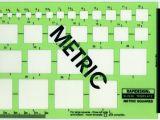 Berol Rapidesign Templates Berol Rapidesign Template Metric Squares Drawing R 2030 Ebay