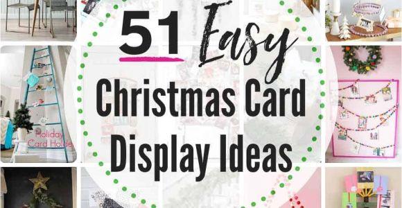 Best Christmas Card Holders Uk 51 Best Christmas Card Display Ideas the Heathered Nest