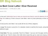 Best Cover Letter Ever Received the Best Cover Letter I Ever Received Letters Cover