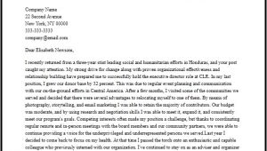 Best Cover Letter for Executive Director Position Professional Executive Director Cover Letter Sample