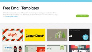 Best Email Templates for Marketing 5 Best Free Email Marketing Templates social Media