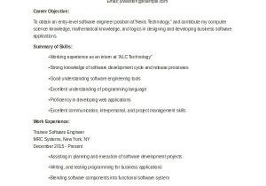 Best Resume Samples for Freshers Engineers 9 Fresher Engineer Resume Templates Pdf Doc Free