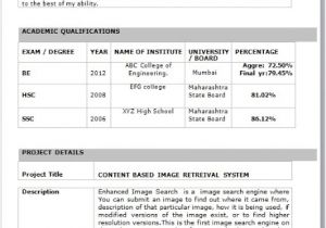 Best Resume Samples for Freshers Engineers It Fresher Resume format In Word