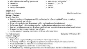 Best software Engineer Resume Best software Engineer Resume Example Livecareer
