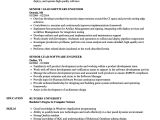 Best software Engineer Resume Senior software Engineer Resume Dandilyonfluff Com
