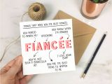 Best Things to Write In A Love Card Personalised Things that Make You Fiancee Card