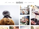 Best WordPress Templates for Photographers 50 Best Photography WordPress themes 2018 athemes