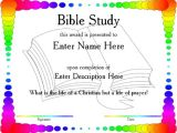 Bible Study Certificate Templates Certificate Templates for Bible Study Gallery