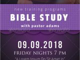 Bible Study Flyer Template Free 15 Chosen Premium Psd Templates
