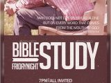 Bible Study Flyer Template Free Bible Study Church Flyer by Aizenacez Graphicriver