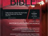 Bible Study Flyer Template Free the Bible Study Church Flyer by Aizenacez Graphicriver