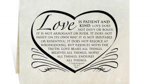 Bible Verse for Anniversary Card Wedding Printable Card Program Invitation Reception Poster