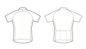 Bicycle Jersey Template Cycling Jersey Design Template Illustrator Templates
