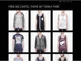 Big Cartel themes Templates Free Free Big Cartel theme Download From tonka Park