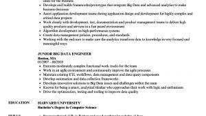 Big Data Engineer Resume Big Data Engineer Resume Samples Velvet Jobs