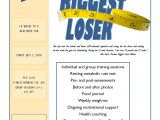 Biggest Loser Flyer Template Previous Video