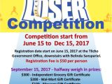 Biggest Loser Flyer Template Upcoming events Tlicho