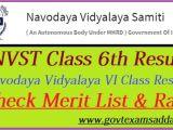 Bihar Police Admit Card Name Wise Navodaya Vidyalaya 6th Class Result 2020 Jnvst Selection