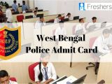 Bihar Police Admit Card Name Wise West Bengal Police Clerk Admit Card 2020 Released Download
