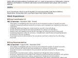 Billing Engineer Resume Billing Coordinator Resume Samples Qwikresume