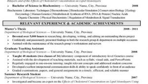 Biochemistry Student Resume 11 Best Images About Best Research assistant Resume