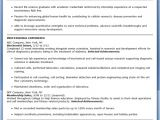 Biochemistry Student Resume Professional Cv Writing Services by Bradley Cvs the