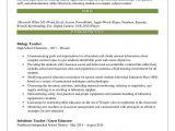 Biology Student Resume Biology Teacher Resume Samples Qwikresume