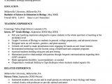 Biology Student Resume Pin by Teachers Reasumes On Teachers Resumes Teaching
