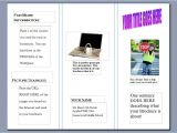 Birth Control Brochure Templates Webquest Internet Safety Awareness Brochure Created