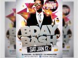 Birthday Bash Flyer Templates Free Bday Bash Flyer Template Flyerheroes