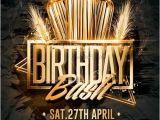 Birthday Bash Flyer Templates Free Birthday Bash Flyer Psd Templates Creativeflyers