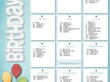 Birthday Calendars Templates Free Life Design and the Pursuit Of Craftiness Birthday