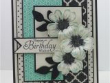 Birthday Card and Flower Delivery A This Card Featuring the Stampin Up Stamp Set Flower